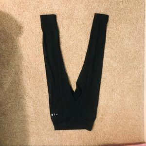 VS Pink basic black leggings(pockets!)